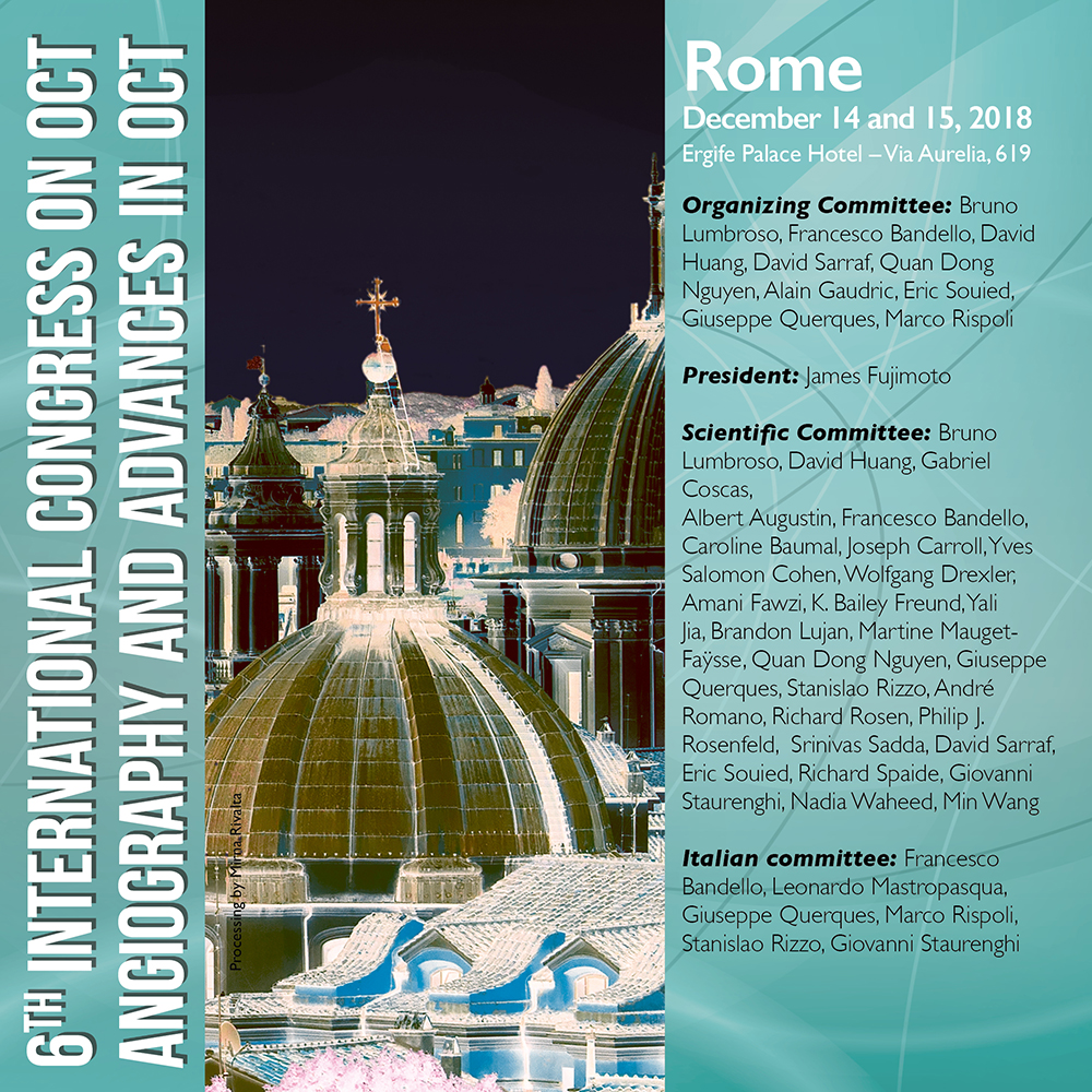 6 INTERNATIONAL CONGRESS ON OCT ANGIOGRAPHY AND ADVANCES IN